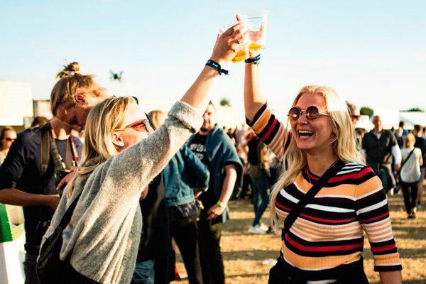 Northside-festivalsstemning